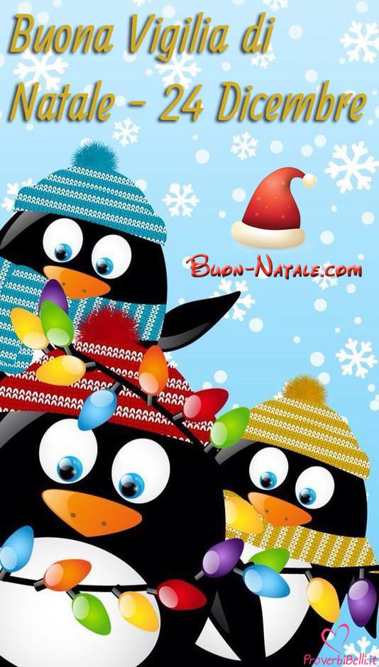 Buon 24 Dicembre Vigilia di Natale da Mandare Gratis su Facebook e Whatsapp