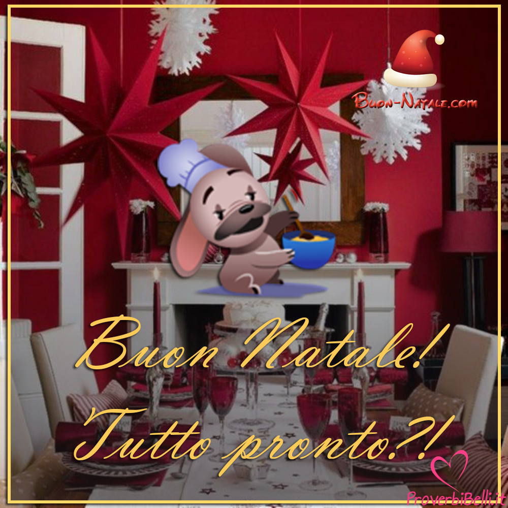 Buon Dicembre Natale Immagini per Whatsapp