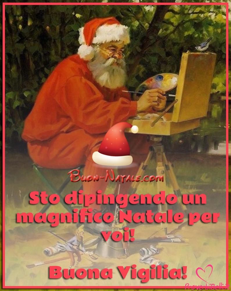 Immagini Viglia di Babbo Natale per Facebook e Whatsapp da 24 Dicembre